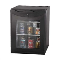 Hot sale 30L glass door mini  refrigerator for hotel absorption minibar
