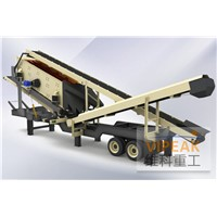 Mobile Construction Waste Crushing Plant