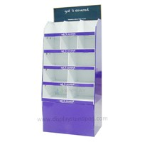 Point of purchase cardboard display stands