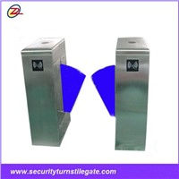 TDZ-YU202 Fast Speed LED Light Standard Vertical Flap Turnstile