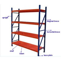 middle-duty goods rack with heavy load capacity