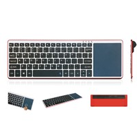Bluetooth 3.0 wireless keyboard build in mouse / touchpad Aluminum keyboard cases