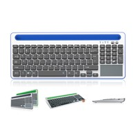Bluetooth 3.0 wireless keyboard build in mouse / touchpad Thin keycaps