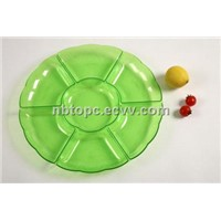 Plate Tray Fruit Tray Plastic Plate Dishes