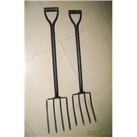 FORK, GARDEN Hoe, Garden Fork. Fork with handle