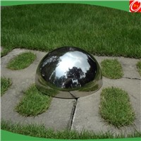 High quality promotional stainless steel half round ball for decoration