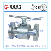 2-PC Forged Steel Floating Ball Valve (Q41F)