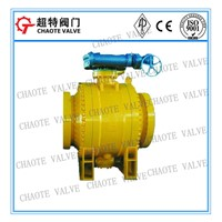 3-PC Cast Steel Trunnion Ball Valve (Q347F)