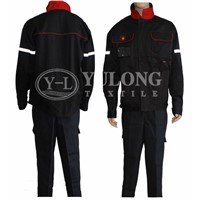 Durable high quality safe to human NFPA2112 fireproof fabric for fr coverall