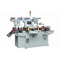 Roll Die-Cutter Machine For Rubber Dot, Induction Seal Liner With Unwinding Laminating Function