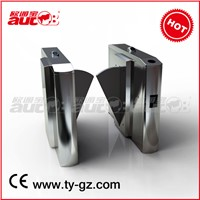Stainless Steel Pedestrian Control System Flap Turnstile Electronic Turnstile (A-FB202+)