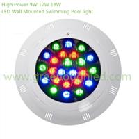 High Power LED Wall Mounted Swimming Pool light/RGB LED Fountain Light 9W 12W 18W
