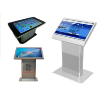 SANMAO 32 Inch Touch Screen Kiosk Multimedia Information Self-Service Kiosk LCD Display