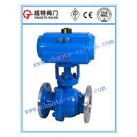 Cast Steel Pneumatic Operated Floating Ball Valve (Q641F)