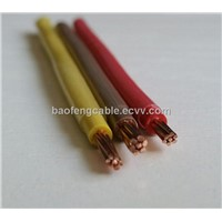 9AWG THHN THWN THW Nylon Jacket Electric Copper Wire