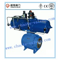 Forged Steel Pneumatic Operated Floating Ball Valve (Q641H)