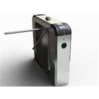 Guangzhou Good Price Automatic Half Height Turnstile Drop Arm Electronic Turnstile (A-TT412+)