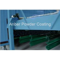 highway guardrail powder coating line