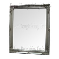 wood framed wall mirror (DTX2101)