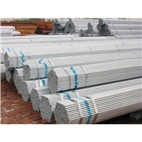 Galvanized carbon steel pipe for low pressure fluid transport