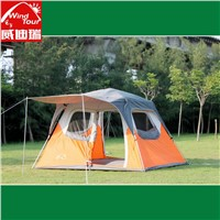 Waterproof Double layer Outdoor 5-8 Person Instant Family Camping Tent With One Room