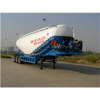 Tri-axle 500000liters bulk cement silo trailers,cement tanker trailer