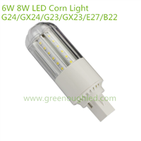 6W 8W G24/GX24/G23 LED Corn Light/SMD2835 LED Bulb Lamp/LED Street Lighting