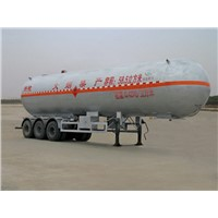 LPG Tank Truck Trailers for Liquid gas transport of 25 ton