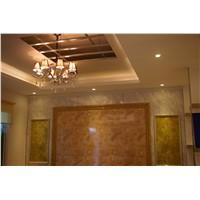 Luxurious multi-color vivid texture marble imitation fiber cement board