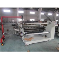 Brown Paper, Craft Kraft Paper Laminating Slitting & Rewinding Machine With Unload Shelf