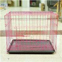 Dog Life Dog Crate Double Door Black Large for training