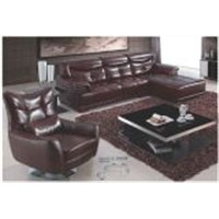 Used Beauty Salon Furniture Leather Sofa Set (L. S601#)