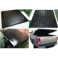 Hard ABS tonneau cover for  08-14 Nissan Navara double cab