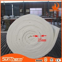 Heat resistant ceramic fiber blanket loaded in 40HQ container