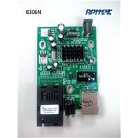 OEM pcb board 8306 solution single mode single fiber media converter