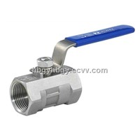 Stainless Steel 304 / 316 1PC Ball Valve