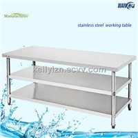 Three Layer Stainless Steel Table,Stainless Table,Assembly Table