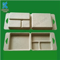 Eco Friendly Molded Paper Pulp Electronics Inner Packaging Trays
