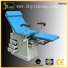 Stainless steel gynecological exam table