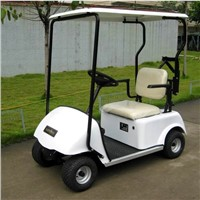 one person single seater electric golf cart