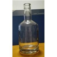750 ml thick bottom glass bottle high white