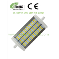 8W 14W LED R7S Bulb Light/ SMD5630 R7S Lamp/LED Retrofit Dimmable Lamp