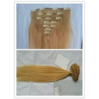Higher Quality Blonde Clip Remy Hair Extensions