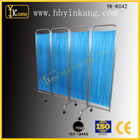 hospital bed screen curtain hospital folding ward screen