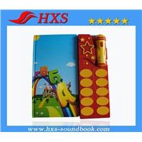 2015 Hot Selling Educational Toy Music Sound Pad for Story Book