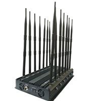 Wi-Fi/WLAN/Bluetooth Wireless Networks Stationary 14 Channel Jammer/Blocker