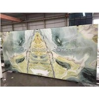 Onyx jade wall slab