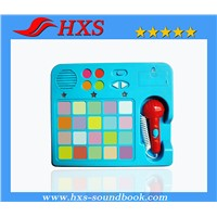 Hot Selling Educational Music Sound Pad for Children Talking Books
