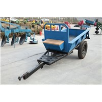 7CBX-1.5 Drum trailer, small walking farm trailer, small drum trailer