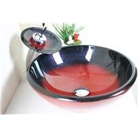 bathroom basin,glass sink,wash basin vessel sink wash sink bathroom cabinet sink n-187